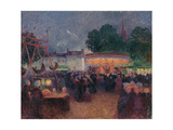 Night Fair at Saint-Pol-De-Léon