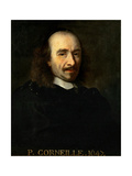 Portrait of Pierre Corneille (1606-168)