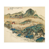 Mount Penglai (Mountain of Immortal)  1924