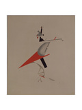 Ruffian, Figurine for the Opera Victory over the Sun by A. Kruchenykh, 1920-1921 Giclée par El Lissitzky
