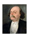 Portrait of Gustave Flaubert (1821-188)