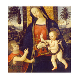 Virgin and Child with John the Baptist as a Boy  1490-1500