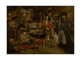 Visit to the Peasants  First Third of 17th C