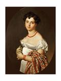 Portrait of Madame Cécile Panckoucke  Née Bochet