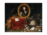 Allegory of Louis XIV  Protector of Arts and Sciences