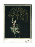 Tamara Karsavina in the Ballet the Firebird Giclée par George Barbier