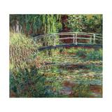 Waterlily Pond, Pink Harmony (Le Bassin Aux Nymphéas, Harmonie Ros) Giclée par Claude Monet
