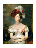 Princess Caroline of Naples and Sicily (1798-187)  Duchesse De Berry
