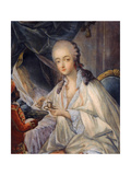 Jeanne Bécu  Comtesse Du Barry (1743-179) with a Cup of Coffee
