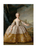 Princess Isabella of Parma (1741-176) as Child