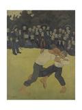 Breton Wrestling  1890-1891