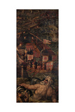 Sea Battle Between Florentines and Pisans  1563-1565