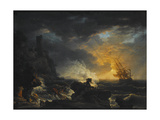 Shipwreck  Second Half of the 18th C