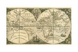 Title Page of Americae Pars VIII Giclée par Theodor De Bry
