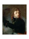 Napoleon Bonaparte at the Pont D'Arcole