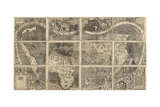World Map Universalis Cosmographia  1507