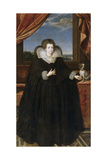 Portrait of Queen Elisabeth of France (1602-164)  Queen Consort of Spain