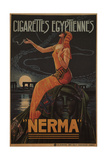 Egyptian Cigarettes Nerma  1924