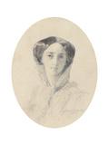 Portrait of Grand Duchess Olga Nikolaevna of Russia (1822-189)  Queen of Württemberg