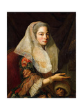 Portrait of a Young Maltese Lady