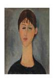 Portrait of Anna Zborowska