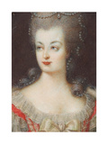 Portrait of Queen Marie Antoinette of France (1755-179)  Mid of the 18th C