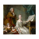 Jean-Marc Nattier and His Family