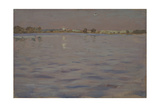 Last Sunshines a Lake  1898-1899