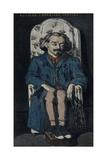 Achille Emperaire, 1867-1868 Giclée par Paul Cézanne