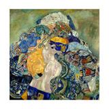 Baby (Cradl) Giclée par Gustav Klimt