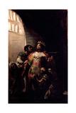 Saint Hermenegild in Prision