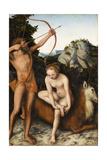 Apollo and Diana  Ca 1530