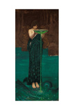 Circe Invidiosa, 1892 Giclée par John William Waterhouse