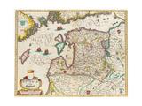 Livonia Map  Vulgo Lyefland  Atlas Maior