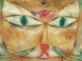 Cat and Bird Giclée par Paul Klee
