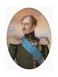 Portrait of Emperor Nicholas I (1796-185)