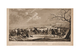 Race of Sledges at Krasny Kabachok (Little Red Taver)  1814