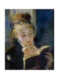 A Girl Reading (La Liseus) Giclée par Pierre-Auguste Renoir