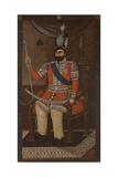 Portrait of Mohammad Shah Qajar (1810-184)