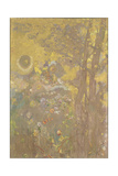 Trees on a Yellow Background  1901