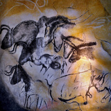 Painting in the Chauvet Cave  32 000-30 000 Bc