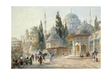 The Sehzade Mosque in Constantinople