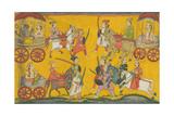 Vishnu Procession  C 1755