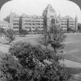High Court and North End of Rotten Row  Bombay  India  1903