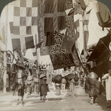 Dotombori  or Theatre Street  Osaka  Japan  1904