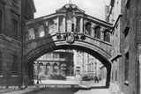 The Bridge of Sighs  Hertford College  Oxford University  Oxford  Early 20th Century