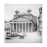 The Pantheon  Rome  Italy  Late 19th Century