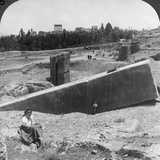 The Ruins of Baalbek (Balabak)  Syria  1900