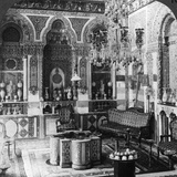 The Reception Room of a Pasha  Damascus  Syria  1905