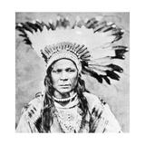Chief Crow Flies High  C1885-90